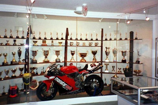 Steve Hislop Commemorative Room