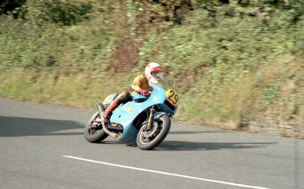 1983 Senior Manx Grand Prix - Ginger Hall