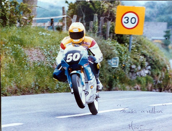 Mick at Rhencullen - Ultra Lightweight TT