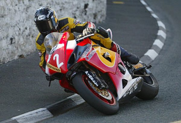 Guy Martin - Steam Packet Races 2005