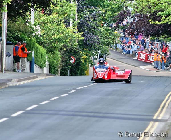 Nick Crowe and Darren Hope Sidecar A 2006 Bray Hill