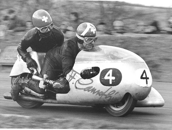 Classic Motorcycle Racing Mallory Park