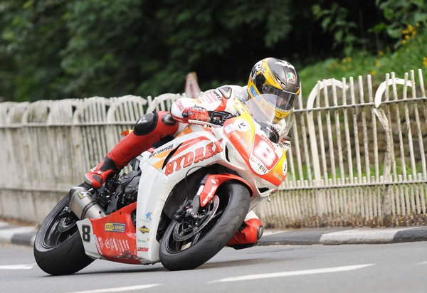 Guy Martin during the Royal London 360 Superstock TT