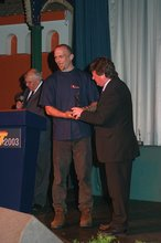 Thumbnail of Andrew Marsden - Prize Presentations - June 2nd 2003