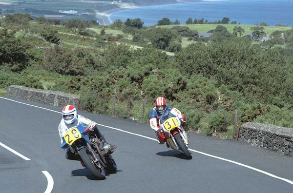 1985 Senior MGP - Goosneck Grant Goodings in pursuit