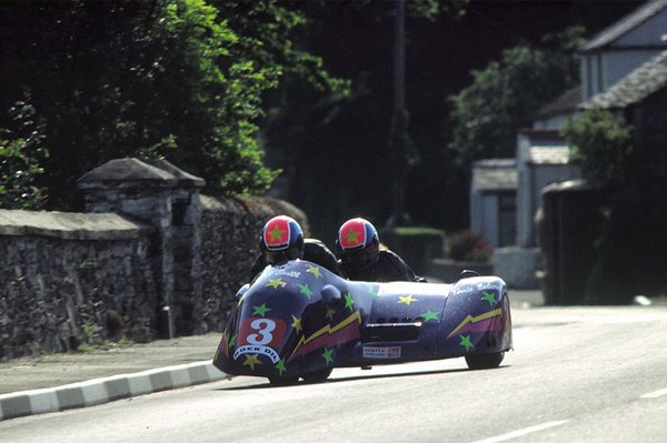 1992 Sidecar A TT - Quarry Bends - Terrie Salone