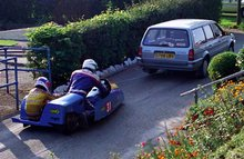 Thumbnail of 1992 Sidecar TT with Steve Knowles in the chair
