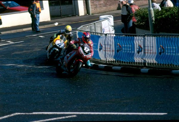 Ryan Farquhar and Ian Lougher North West 200