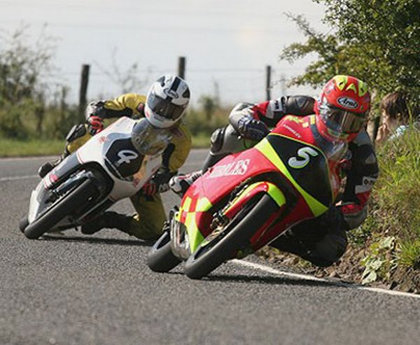 Darran Lindsay and Robert Dunlop - Ulster Grand Prix 2006