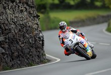 Thumbnail of John McGuinness during the second practice session at the 2008 TT
