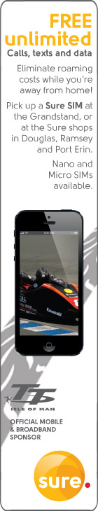 Sure Mobile 2014 Isle of Man TT advert 1