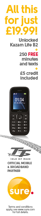 Sure Mobile Kazam Life B2 mobile PLUS credit for just £19.99