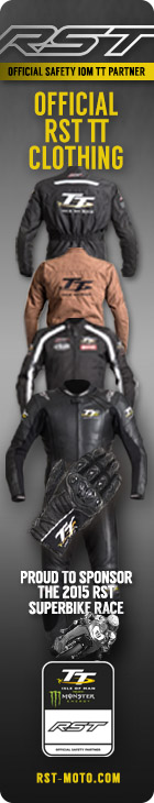 RST Official Isle of Man TT motorcycle clothing