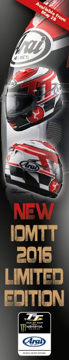Arai TT 2016 Limited Edition