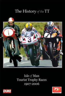 Official  Isle of Man TT Races Map PVC Keyring.