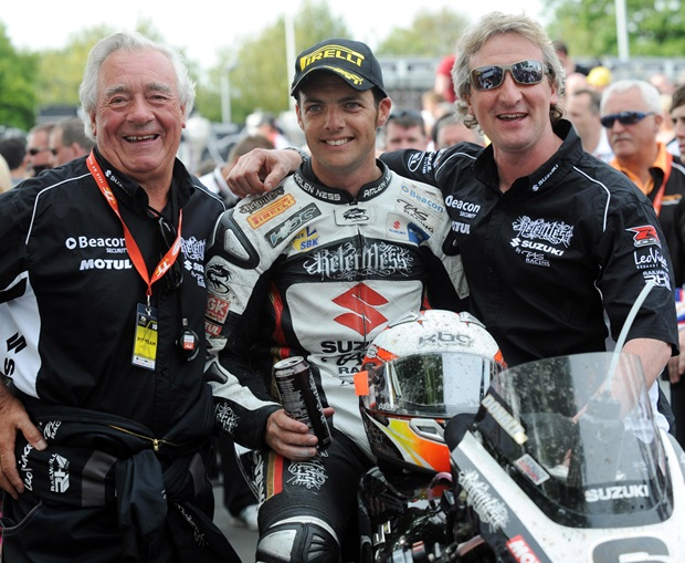 Cameron Donald will remain with the Relentless by TAS Suzuki team run by father and son Hector and Philip Neill in 2011
