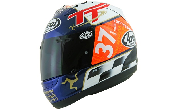 Arai Unveils Limited Edition Helmet Design For The 2011