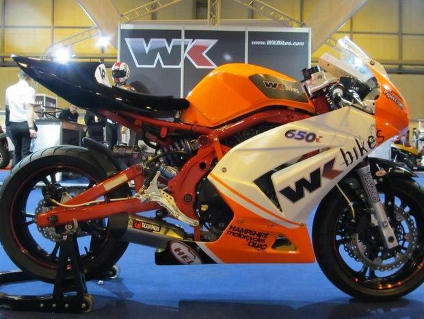 The 650 machine WKBikes has entered for the 2013 Isle of Man TT fuelled by Monster Energy
