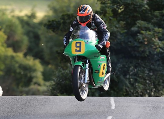 Ryan Farquhar at Ballaugh Bridge