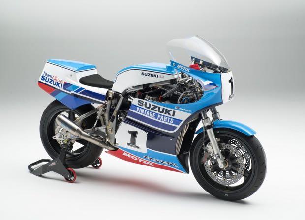 Suzuki Vintage Parts Programme tie-up with Team Classic