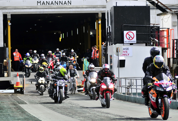Steam Packet Company boosts capacity for Isle of Man Festival of Motorcycling