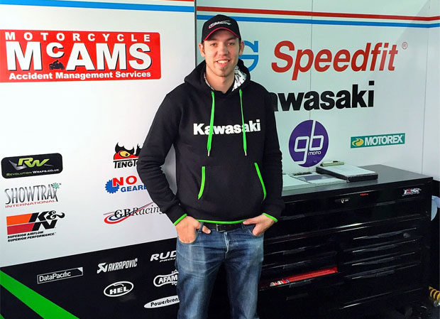 Peter Hickman is to campaign with the GBMoto squad on the roads in 2016