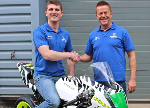WK Bikes CFMOTO Factory Team boss Mike Hinkley welcomes Craig Neve to the outfit