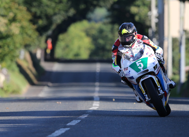 Bruce Anstey topped the Classic TT Lightweight qualifying at over 118mph