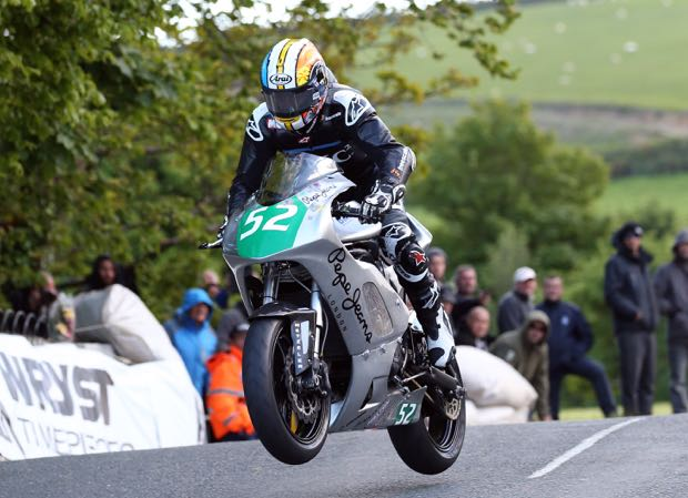 MCN's Adam 'Chad' Child will ride the BBMA's Lightweight TT entry