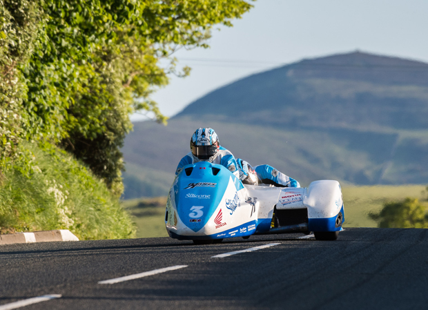 John Holden and Andy maintained their dominance of the Sure Sidecar qualifying sessions with a lap in excess of 115mph on Friday