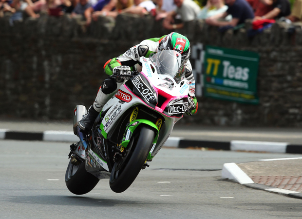 James Hillier gets fully airborne at the top of Bray Hill - Credit: Tim Keeton/Impact Images Photography