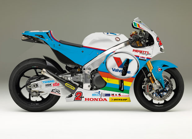 The Honda RC213V-S Bruce Anstey will ride for Valvoline Racing by Padgett's Motorcycles at TT 2016