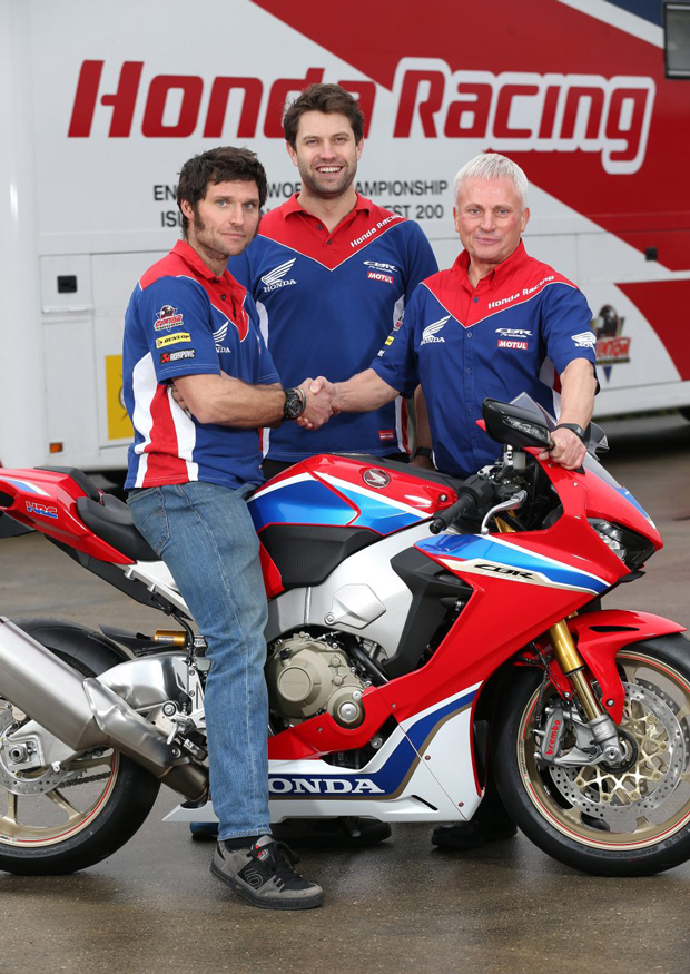 Guy Martin, Johnny Twelvetrees, Neil Tuxworth