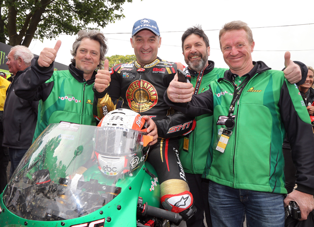 Michael Rutter with the Paton Team