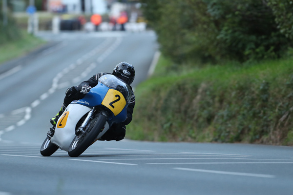 Jamie Coward, fastest Senior Classic TT entrant on Saturday's session. Photo Dave Kneen / Pacemaker Press Int'l.