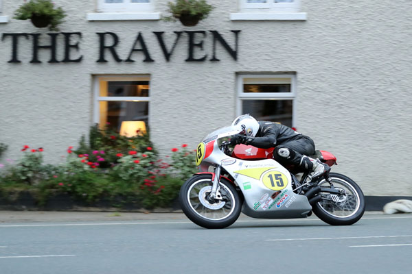 22/08/2017: Dominic Herbertson (500 Honda/Davies Motorsport) at Ballaugh Bridge during qualifying for the Bennett's Classic TT. PICTURE BY DAVE KNEEN/PACEMAKER PRESS