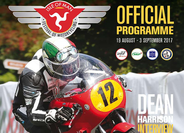 Isle of Man Festival of Motorcycling 2017 programme cover