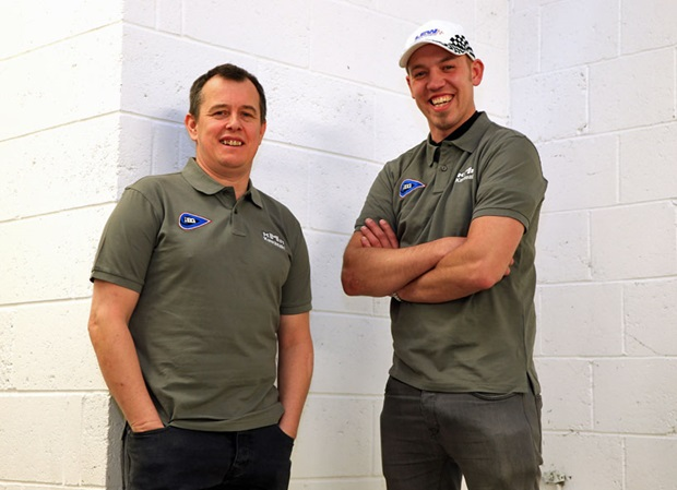 John McGuinness and Peter Hickman will spearhead the KMR/IEG Kawasaki in the Bennetts Lightweight TT Race