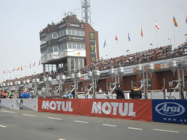 Isle of Man TT Grandstand