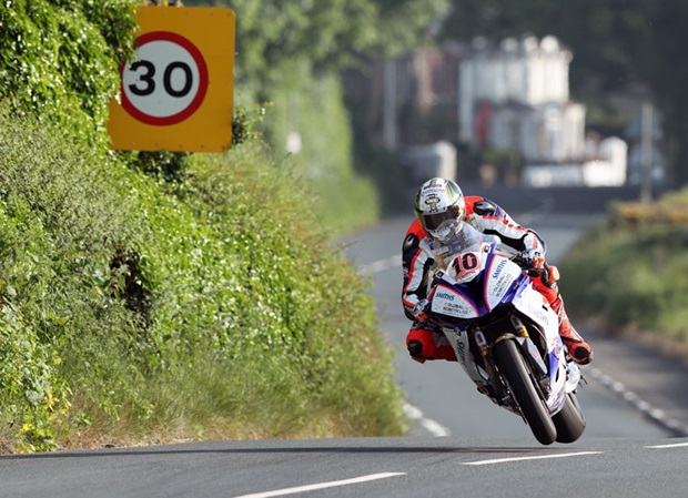 Peter Hickman at Rhencullen. Photo by Dave Kneen