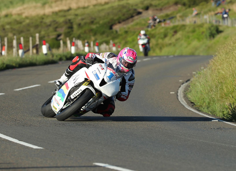 Lee Johnston on the Padgett's CBR600RR