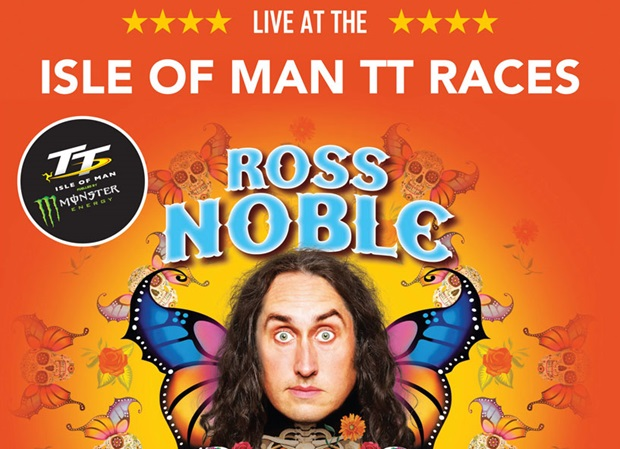 Ross Noble - el Hablador - at the Isle of Man TT Races