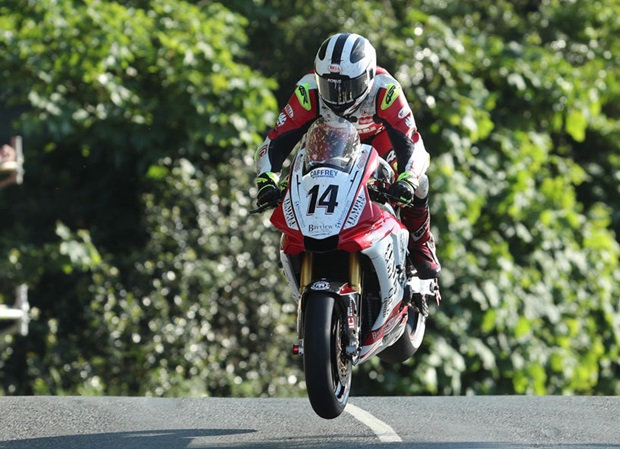 William Dunlop at Ballaugh Bridge