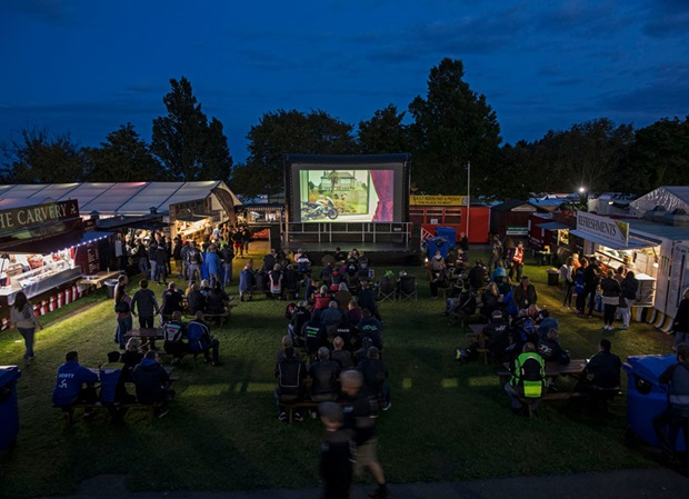 Sundown Cinema. Photo: Jonathan Cole Photography Ltd / Isle of Man TT