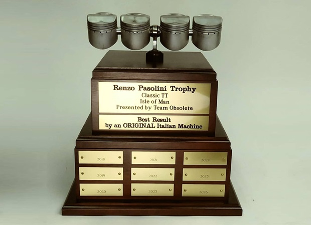 Pasolini Trophy, presented by Team Obsolete's Rob Iannucci