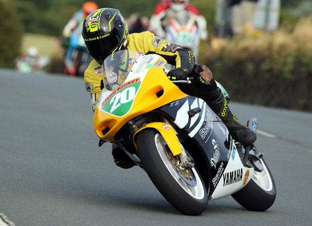 Dan Sayle in action on the Colas Billown Circuit