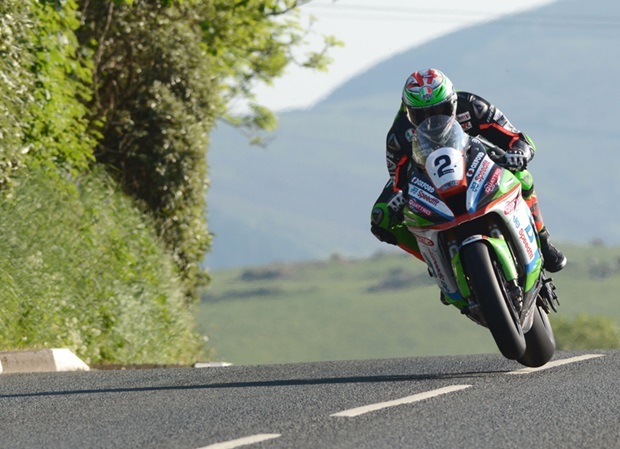 James Hillier at Lambfell during TT 2018. Photo: RP Watkinson