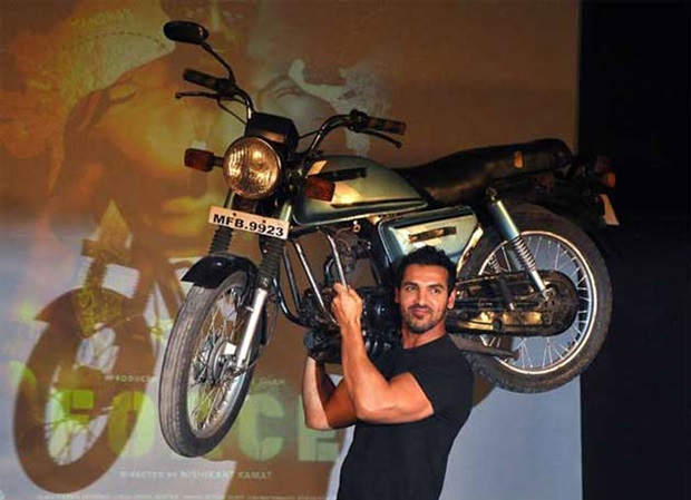 Bollywood action movie hero John Abraham will bring his love of bikes to the Isle of Man for upcoming road racing movie