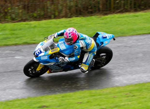 Lee Johnston in action at the Scarborough Gold Cup, Sunday 29th September. Photo Lee Davies